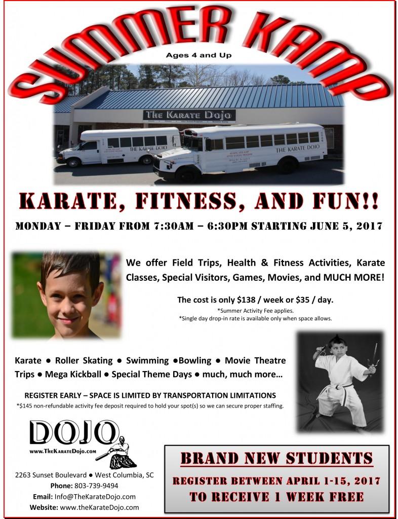2017 Summer Karate Kamp (low res)