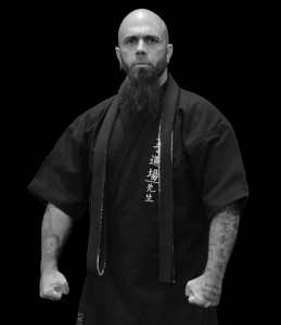 Sensei (bw) BlackBackground
